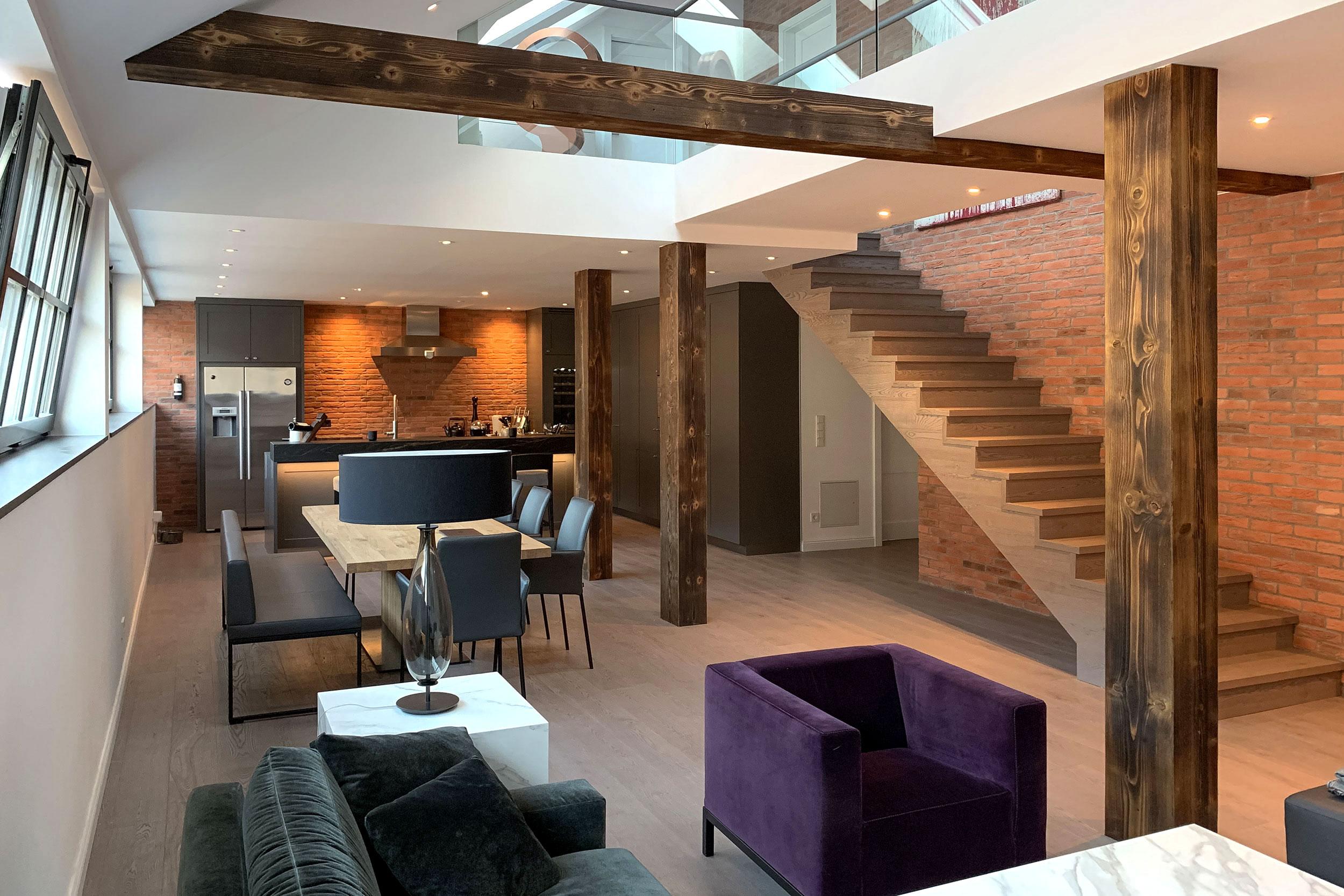Ladenstein Wohnkonzepte Wohnzimmer Küche Essbereich Designmöbel